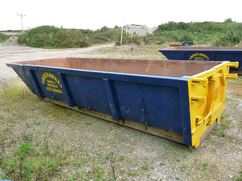 Roll On Roll Off Skip Hire North Devon Greenaways Waste And Recycling